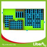 Liben usou a arena interna do Trampoline dos adultos para a venda