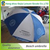 Крупноразмерный напольный изготовленный на заказ складывая зонтик пляжа Sun