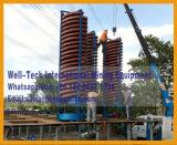 Constructeur de séparateur de descendeur spiralé de fibre de verre de densité