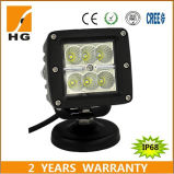 3 '' 18W LED Square Work Light LED Pod für Jeep weg von Road