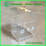 Caixas de embalagem transparentes de suspensão da gota do plástico
