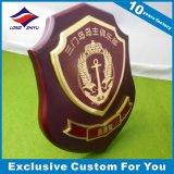Drukte de Acryl+Metal Trofee van de douane, de Trofee van het Kristal Uw Embleem af