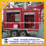 Sistema Containerized portátil aprovado da luta contra o incêndio do Iacs