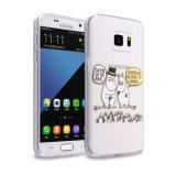 voor Geval van de Telefoon van de Cel van de Dekking van het Patroon van Iml van de Douane van Samsung het Mobiele