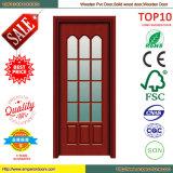 ガラスドアの木製のドアの木のパネル・ドアの内部ドア