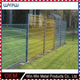 Crea la cerca temporal del hierro para requisitos particulares labrado del jardín del acoplamiento de alambre de metal del bajo costo