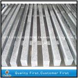 Lastre di cemento armato grigio-chiaro naturali poco costose del granito di G623 Padang per la pavimentazione/giardino