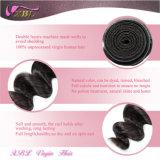 Волосы девственницы оптового цвета волны цены по прейскуранту завода-изготовителя свободного естественного Unprocessed малайзийские