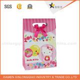 La venta al por mayor de la fábrica recicla el bolso de papel del regalo con insignia de la compañía
