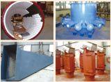 耐久の反研摩の陶磁器の並べられた鋼管