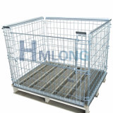 Eurotyp galvanisierte stapelbare Maschendraht-Rahmen-Ladeplatte