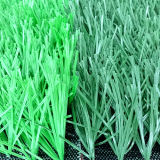 Hierba artificial material respetuosa del medio ambiente del césped de PU+PP
