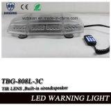 De de Mini Ingebouwde Sirene Lightbar en Spreker van 21.5 Duim met Tir Lens in hoog Waterdicht (tbg-808l-3C)
