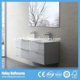 Europea moderna vendedora caliente de tocador de baño con el espejo del gabinete (BF113N)