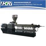 Máquina gemela del estirador de tornillo de Masterbatch Co-Roating del llenador del CaC03 de PP/PE+