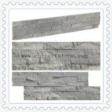 Ardesia di legno blu della pietra della coltura di vendita calda della Cina per il rivestimento della parete