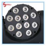 세륨 & RoHS (HL-008MB)를 가진 12*10W LED 단계 이동하는 맨 위 점화