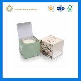 Коробка дешевого изготовленный на заказ подарка свечки печатание упаковывая (коробка карточки бумажная упаковывая)