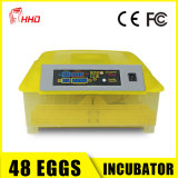 48 Incubator van het Ei van eieren de Automatische Mini