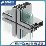 Aluminium Curtain Wall Profiel voor Building Glass Facade Project
