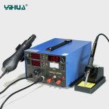Estação de solda do Rework do ar quente de Yihua853D 2A 3in1 com fonte de alimentação de DC