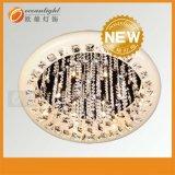 Plafonnier en cristal du grand dos DEL de lumière de panneau de plafond de la lampe DEL 400X400 de plafond Om88036