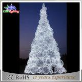 Il grande natale blu ha decorato la vendita dell'albero della sfera del LED nella fabbrica della Cina