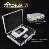 Artmex V8 3Dの常置構成機械情報処理機能をもったHDタッチ画面