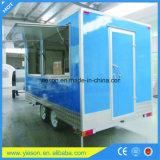 イタリアの移動式食糧ヴァンのアイスクリームのカートは販売のために製造する