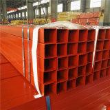 ASTM A500の標準塗られた赤の広場の鉄の管
