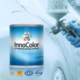 차는 은 금속 사려깊은 페인트를 다시 마무리한다