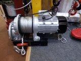 Il micro tipo argano elettrico, gru elettrica della fune metallica con telecomando
