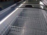 Congélateur commercial utilisé par congélateur de poitrine d'étalage de supermarché à vendre