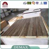 Plancher en bois de cliquetis de noix de planche de luxe en bois de vinyle