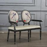 二重シートが付いている椅子を食事する新しいデザイン現代レストラン