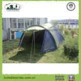 kampierendes Zelt der doppelten Schicht-6p mit Wohnzimmer