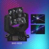 LEIDEN 16PCS RGBW Bewegend Hoofd Dubbel het Vliegen Licht