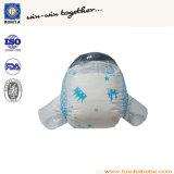 PPテープが付いている中国の工場卸売の高品質の赤ん坊のおむつ