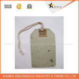 Offset Printing Cardboard Hang Tag for Garment