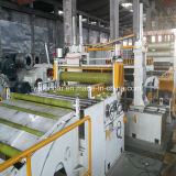 Stahlblech, das Maschinerie aufschlitzt
