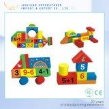 子供のおもちゃの子供の木のブロックの磁気ブロックのための木のブロック