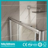 Puerta deslizante de la ducha de clase superior del rectángulo con el marco de la aleación de aluminio (SE904C)