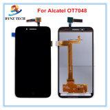 Франтовской экран касания LCD мобильного телефона для агрегата цифрователя индикации Alcatel Ot5022 Ot6012 Ot6039 Ot7048