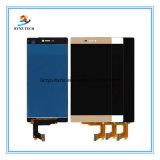 Huawei P8のための高品質の携帯電話の部品LCDは上昇する