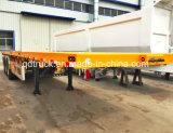 40FT Behälter-Schlussteil, Flachbettschlußteil, Behälter-LKW