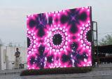 Pantalla de visualización al aire libre a todo color de LED del alquiler P6