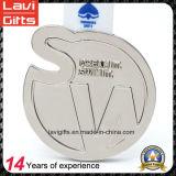 新しいデザインヒグマのロゴの金属のカスタムメダル最小値無し