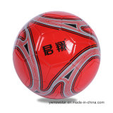 5#によってカスタマイズされるロゴの高品質PUのサッカーボール