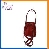 Roter Damen PU-Rucksack-Beutel-neue Form-Qualität