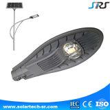 Ventas calientes 30W 60W 120W Sunpower Panel solar para la luz de calle del LED Solar con el poste TUV IEC Ce Certificado de RoHS